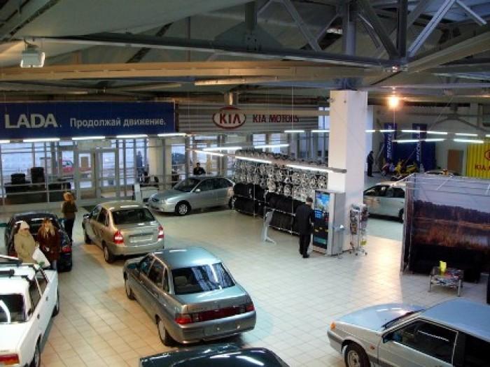 В г. Кременчуге продается действующий автосалон с СТО общей площадью помещений 8 6412