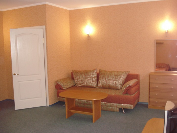 Миниотель находится в живописном месте Святогорска.Общая площадь отеля-380м.кв., 6476