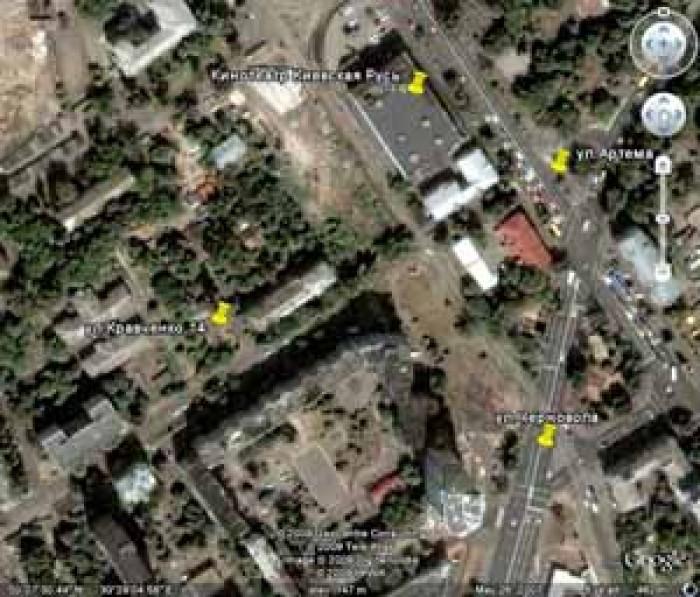 Продажа земельного участка 0,14 Га в  центральной части Киева (собственность)Рас 6340