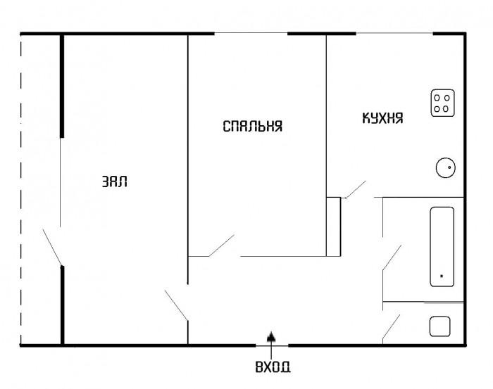 2-х к., г. Счастье, кв. Энергетиков, 25 этаж, S=51 м.кв., большая лоджия, хороше 61251