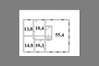 с. Власовка, ул. Победы 31.Описание: Дом 2-х этажный с белого кирпича 1994 года  624