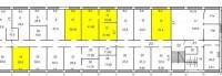 Офисы в районе ст.м. Московский проспектОфисные помещения в аренду, площади 35-8 6419