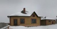 Новый дом на п.Солнечный-1, построен из ракушняка утеплен пенопластом и обложен  62113