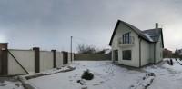Дом пос. Солнечный -1 на 7,5 сот.  приват. земли. Построен из паротерма, общая п 62114