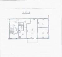 Продается 3-комнатная квартира по улице Заречная. Пятый этаж пятиэтажного дома.  61382