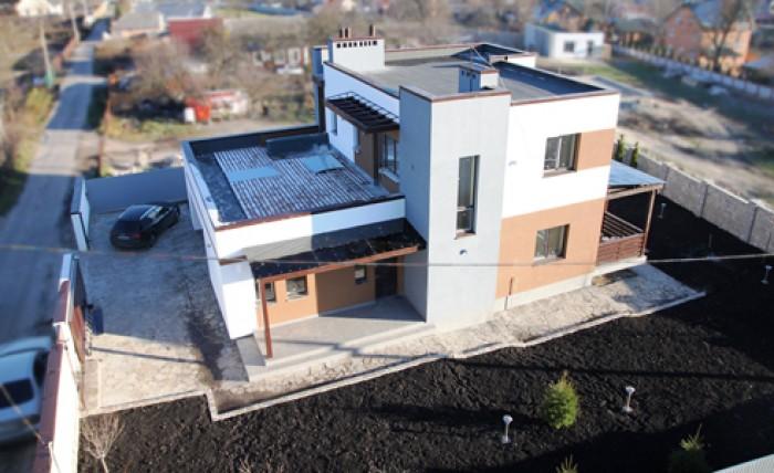 Продается энерго эффективный современный дом в центре с. Иванковичи, Васильковск 62622