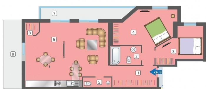 Осталось в продаже всего 4 квартиры!Частные домовладения на Елочной -комплекс, с 611699