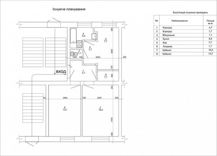 127 Сдам офис на Подоле (хозяин), перекр. ул. Андреевская д.14/Братская4.   5900 64784