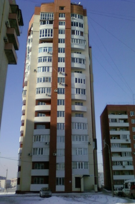 Квартира в новом доме с панорамным видом на город, комнаты раздельные, евроремон 612242