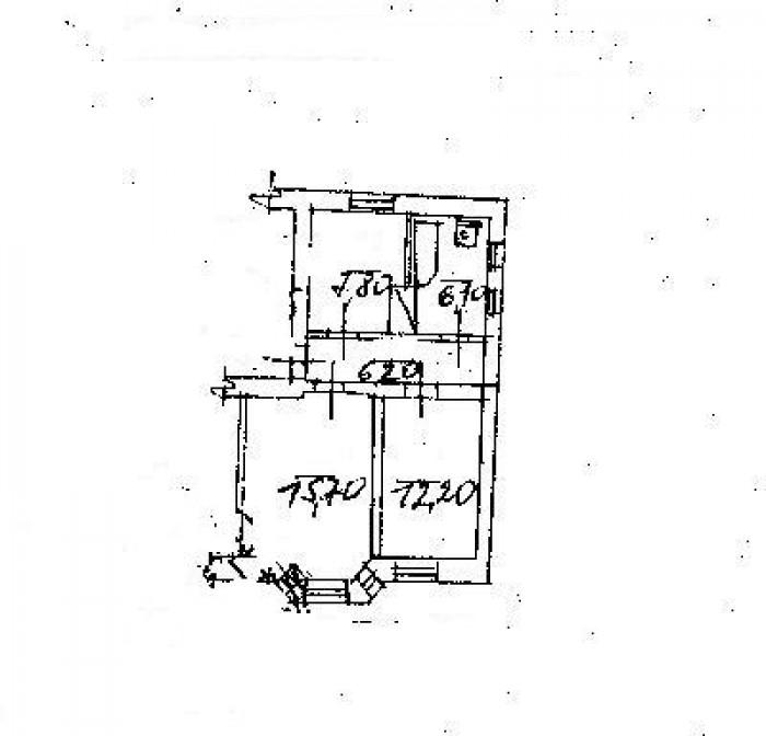 Продам помещение в Центре, 50 кв.м. Состояние хорошее, интернет, телефон, эркер, 64939