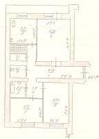 породам 3-х комнатная квартира на площади Советской ул.Дзержинского 54 эт 9 этаж 611533