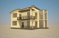 Продам современный энергосберегающий 2х эт. дом(коттедж) с земельным участком 5с 62872