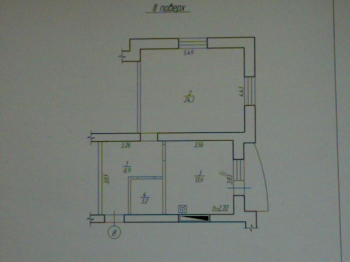 Коновальця 2/5 51/23/14 цегляний, однокімнатна квартира в новобудові. Будинок вв 61540