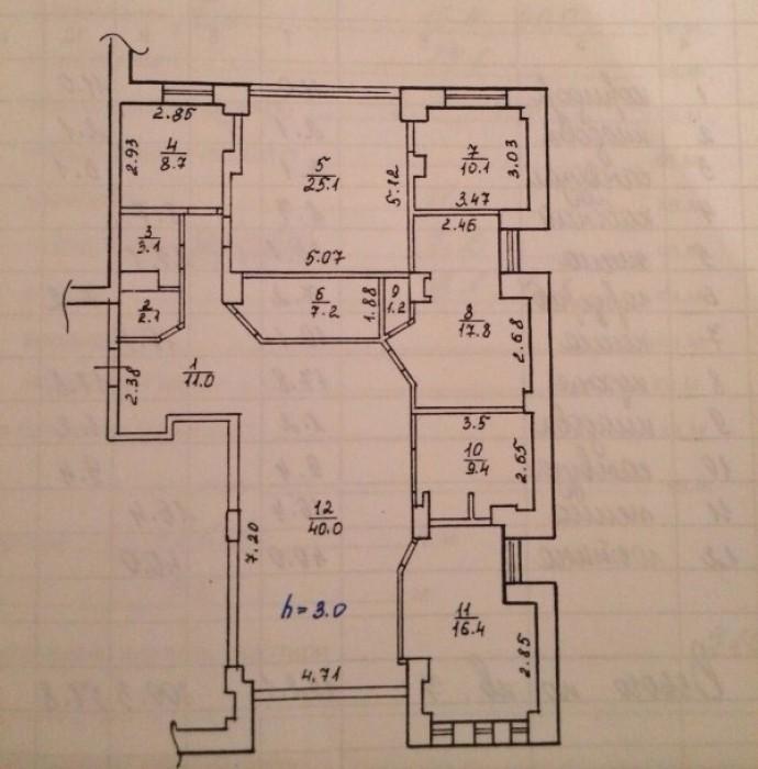 Продам 4х комнатную квартиру 152м.кв. в Жилом комплексе по ул. Жуковского 24а ра 61570