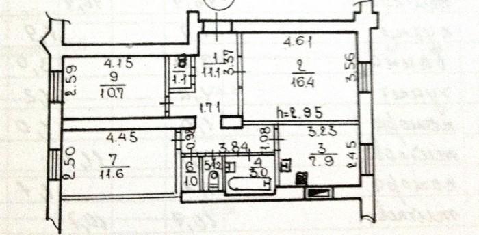 Продам помещение ул.Титова (р-н Спутника).Первый этаж. Жилой фонд. Сталинка. Общ 61645