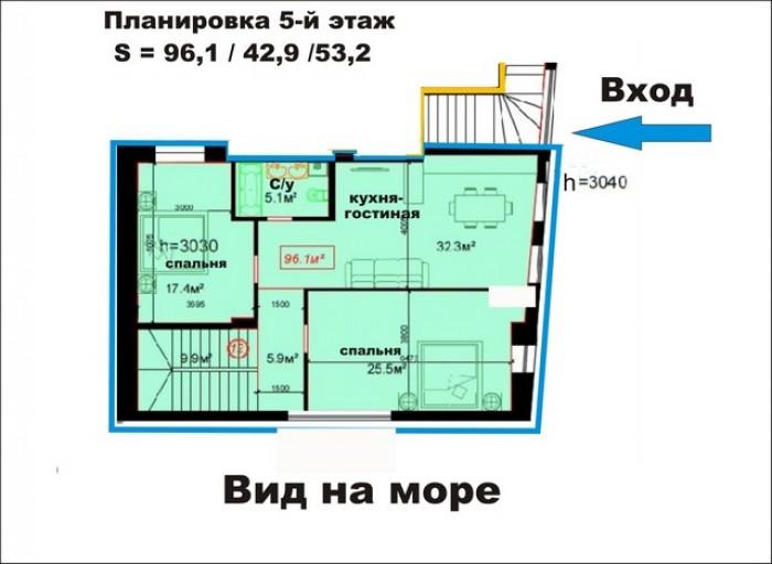 Современная история Одессы – новострой на ул. ГоголяРекомендуем: квартира площад 61682