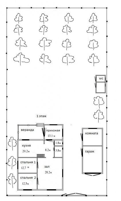 Братское (Ново Александровка). Дом 2 этажа из белого кирпича + полноценный цокол 62264