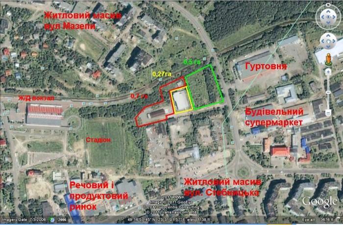 Продается земля под коммерческое строительство в г. Трускавец. Находится в непос 63151