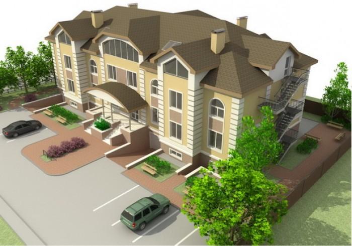Компания Silver Sky Development предлагает Вам приобрести проект офисного центра 64384