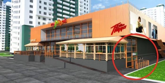 Продам  помещение в новом торговом центре на ул Бочарова. 180 м, отдельный вход, 64466