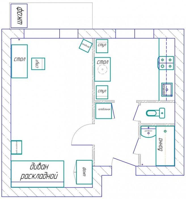 Продам 1-ю квартиру: Хортицкой р-н, пр. Советский, 5 этаж 9 этаж.дом. Общая площ 611024