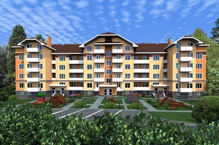 Новий 6-поверховий  будинок , розташований в одному із найкомфортнішому  районі  611134