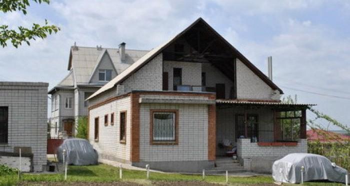 Братское (Ново Александровка). Дом 2 этажа из белого кирпича + полноценный цокол 621075