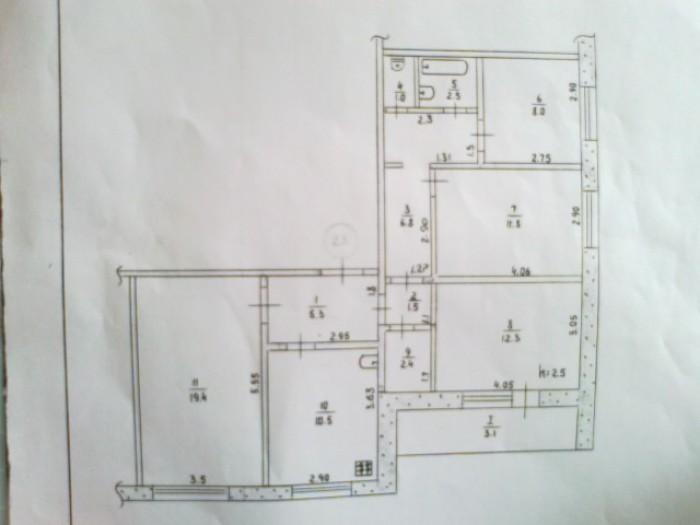 ул.8 марта. 8 этаж 10-и этажного дома металопластиковые окна не все, с/у раздель 612608