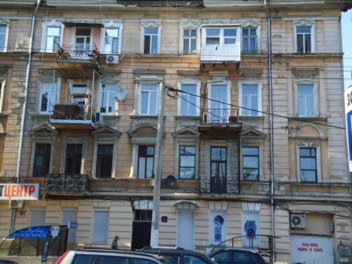 Сдается под офис квартира в центре, М.Арнаутская –Пушкинская. 120 м2, 6 комнат,  612679