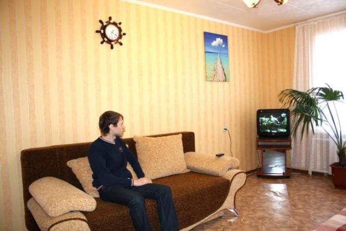 Посуточно от хозяйки!(2+1 спальных места) В квартире точно есть :Новый евроремон 612918