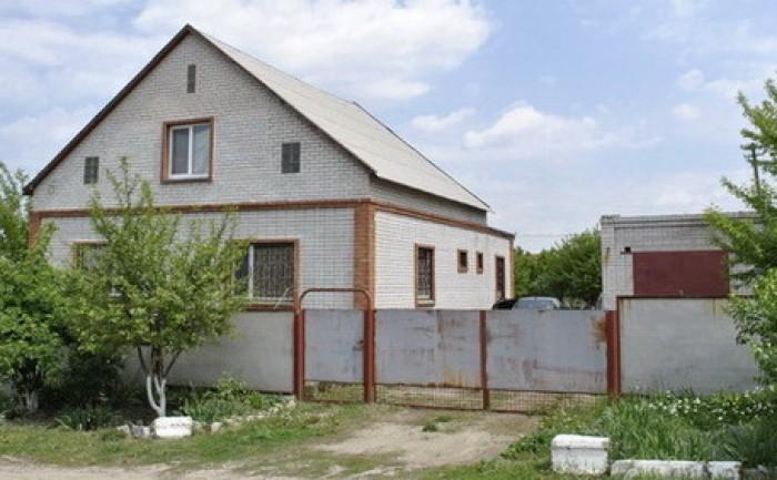 Братское (Ново Александровка). Дом 2 этажа из белого кирпича + полноценный цокол 621286