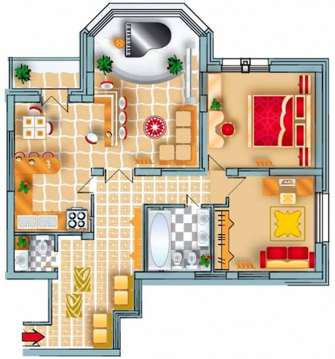 Продажа 2-х комнатной квартиры в 24-х этажном доме ЖК Фаворит (между Северным а/ 612989