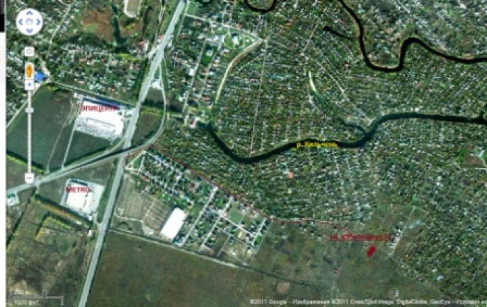 Продам участок 14 соток (20м х 69м) в поселке Юбилейный. Участок находиться близ 63732