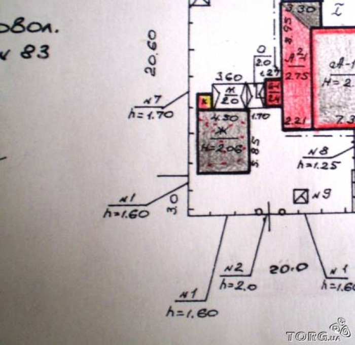 Срочно продам пол дома на Клочко-6, двор и вход отдельный. Общей площади 53 м2 - 621381