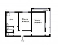 2-х комн квартира (изолированные комнаты).2 этаж из 5ванна и с/у раздельные, авт 613059