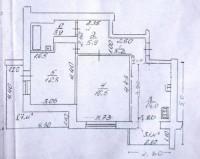 Продается 2-х кв. в кирпичном доме площадью 56 кв.м. + лоджия 8,7 кв.м.Кухня 14, 613171