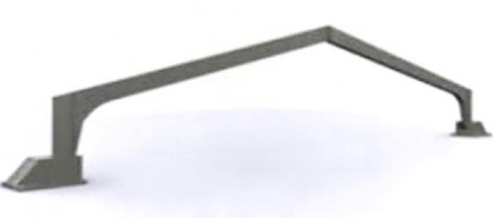 Продам коровники ЖБИ 900 м2. Незавершенное строительство - рамы РПС-12 (клюшки)