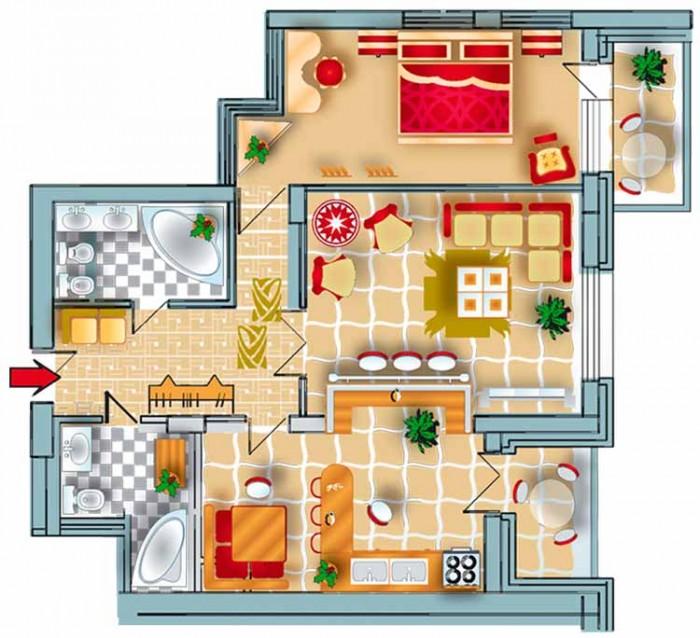 жк Фаворит. Дом сдан в эксплуатацию. Возможен обмен на недвижимость или авто с д 613826