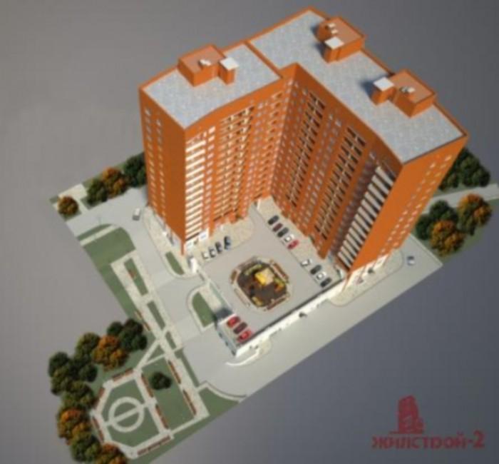 Продам СВОЮ 1-к. квартиру в новострое свободной планировки 60,4 кв. м: кухня 15, 613864