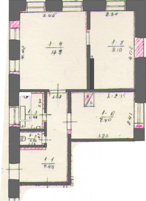 Продается 11/20 часть дома по ул. 9 Военная,13.  Общая площ. 48.8 кв.м, жилая 22 621724