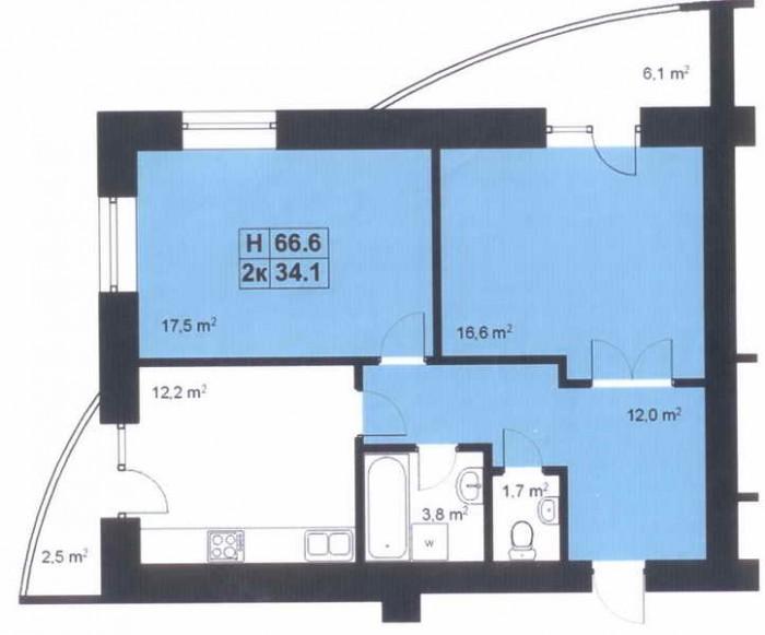 Продаються квартири мансардного типу(повноцінні), 10/10ц., сирець, лічильники, в 614032