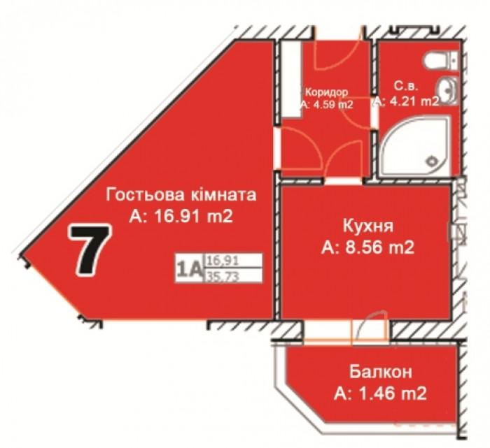 Вашему вниманию предлагается современный ЖК в самом центре г. Буча.Наши преимуще 614044