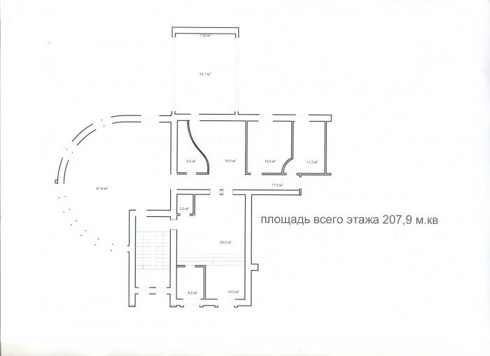 Офисный центр ул. Ивашкевича 6/8А, в оживленном месте, 1й этаж занимает Велика к 641601