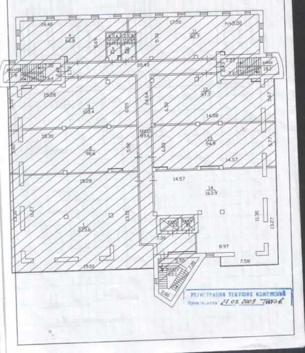 Помещения 160 и 220м2 в новом,действующем бизнес центре класса А.Просторный, охр 641667