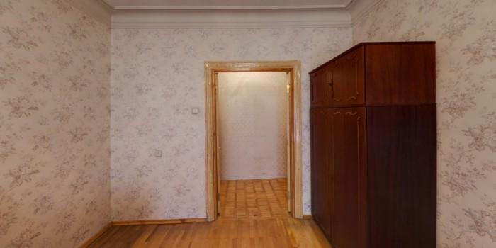 начало Артёма, 3/4 сталинка, 62 кв.м, комнаты 17 и 21 кв.м, жилое состояние, ква 614365
