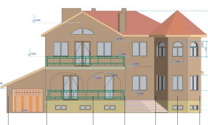 Двухэтажный коттедж построен по проекту. Дом европейского уровня70 готовности. С 621883