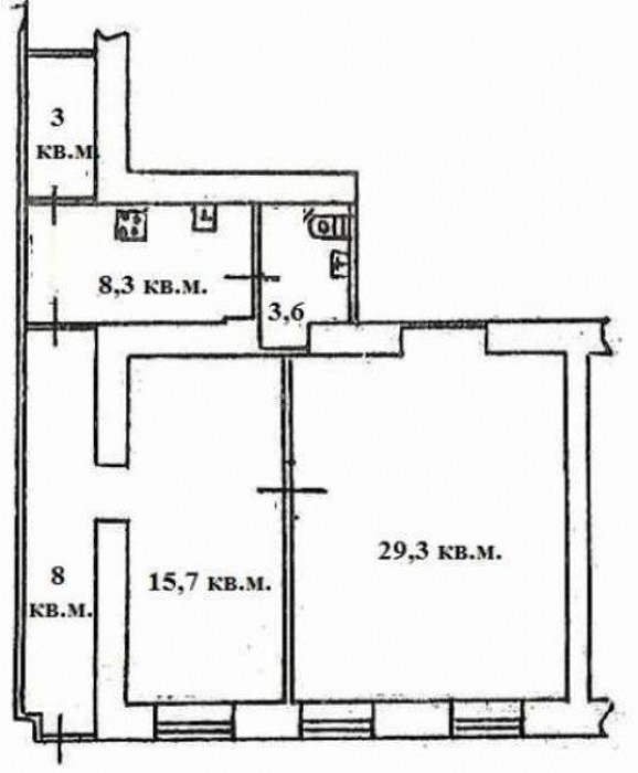 Продам помещение в центре города, ул.Троицкая. Офис расположен на 1-ом этаже 3-х 641853