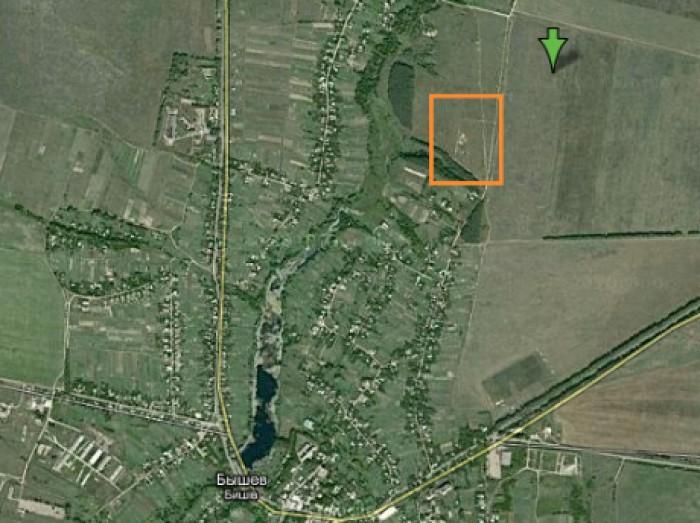 Продам участок под застройку, Макаровский р-н, пос. Бышев,  40 км. от Киева, 25  631096