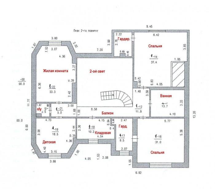 Продам современный 2-х этажный дом в Совиньоне 3. Общая площадь 370 кв.м. В доме 622114