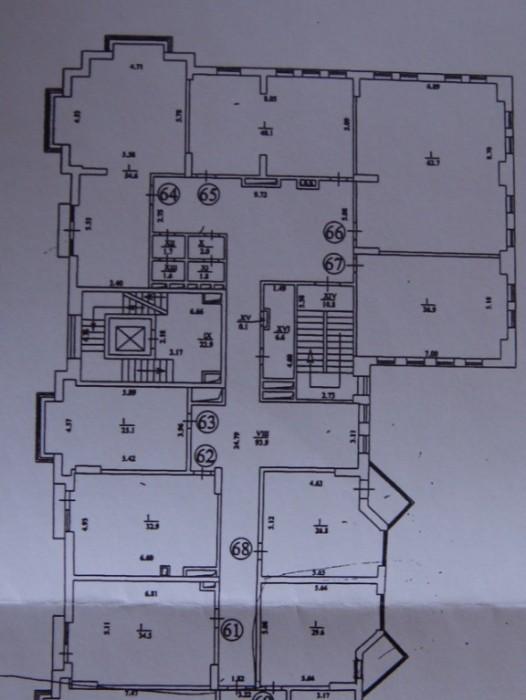 Офисное помещение на 2 этаже с отдельным входом в новом престижном доме, гостево 641941